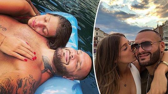 Rytmus a Jasmina Alagič jsou krásný pár.