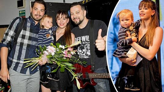 Karolina se po porodu vrátila na muzikálová prkna.