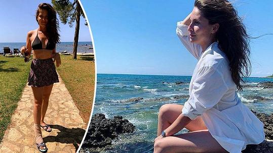 Alžbeta Bartošová si na dovolené přivodila nepříjemný úraz.