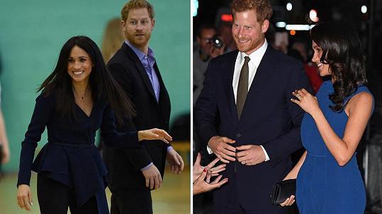 Vévoda a vévodkyně ze Sussexu čekají své první dítě.