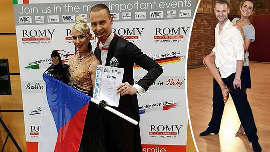 Michal Mládek si vytančil další medaili.