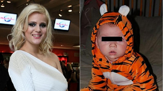 Ornella má pro své nenarozené dítě tygří dupačky. Bude vypadat takto?