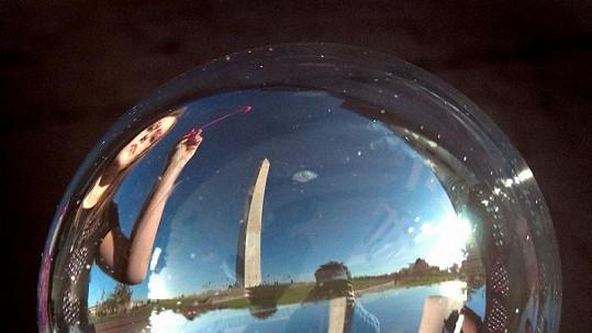 Washingtonův monument.