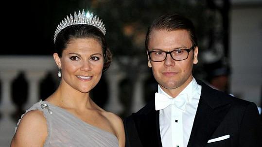 Švédská princezna Victoria s manželem.