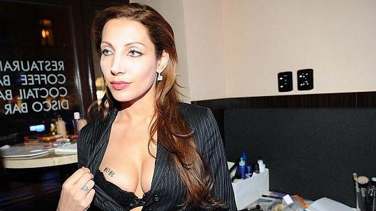 Olga Lounová natáčela nový videoklip.