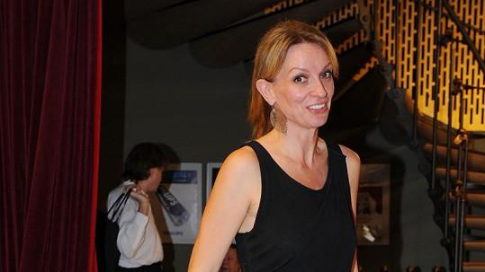 Ivana Chýlková má velmi štíhlou postavu.