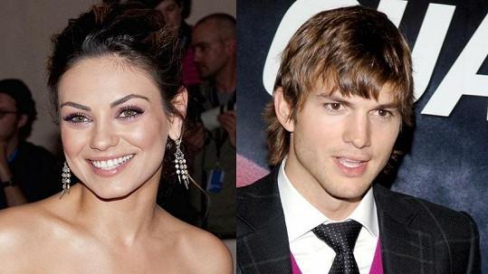 Ashton Kutcher a Mila Kunis.