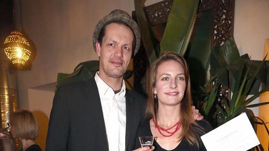Anna Polívková s přítelem Jakubem Xavierem Barou.