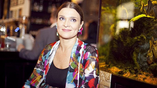 Mahulena Bočanová na křtu nového CD