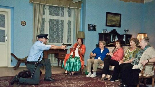 Policista překvapil Libušku Šafránkovou.