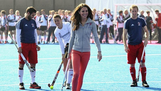 Kate Middleton si při hře zavzpomínala na školní léta.