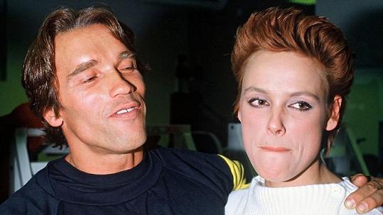 Arnold a Brigitte na archivním snímku.