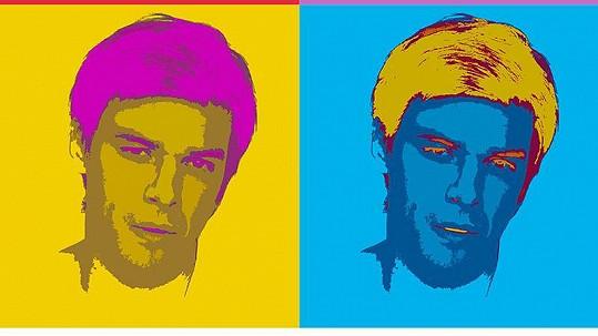 Herec a zpěvák se na obálku gay magazínu nechal nafotografovat a nastylizovat jako Marilyn Monroe ze slavné fotografie Andyho Warhola.