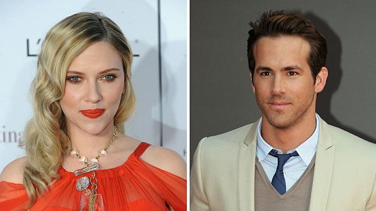 Exmanželé Scarlett Johansson a Ryan Reynolds.