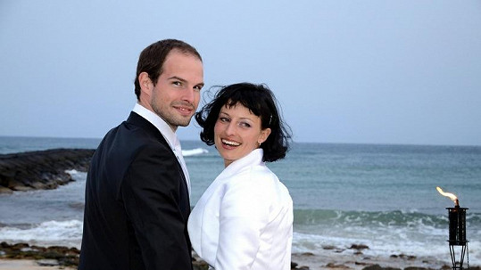Jan Maxián s manželkou Lucií.