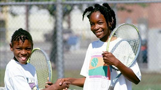Zrodily se hvězdy... Serena a Venus Williamsovy v roce 1991.