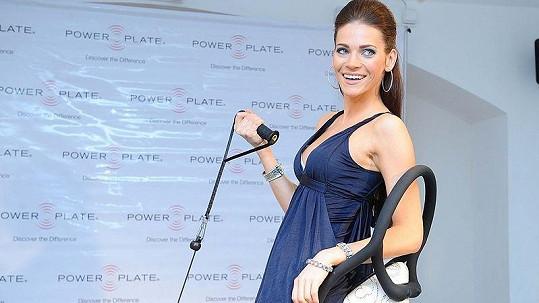 Andrea Verešová zkoušela diamantový power plate