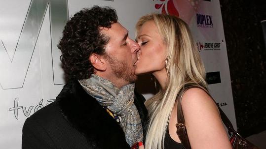 Domenico Martucci s přítelkyní.