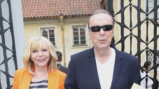Hanka Zagorová s manželem Štefanem Margitou.
