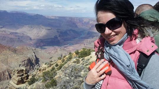 Dagmar Zázvůrková navštívila Grand Canyon.