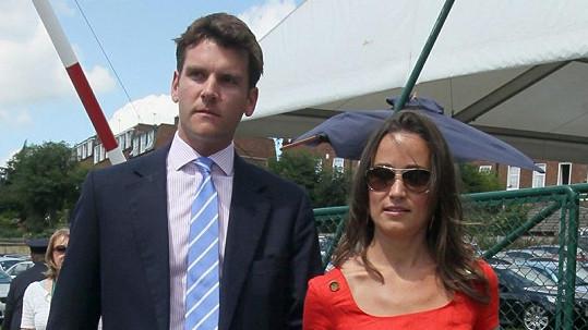 Pippa Middleton s Alexem Loudonem zřejmě zažehnali krizi.