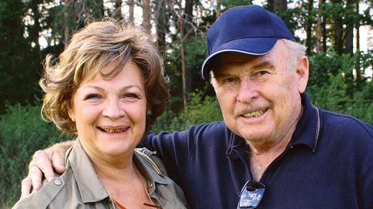 Jana Hlaváčová s manželem Luďkem Munzarem.