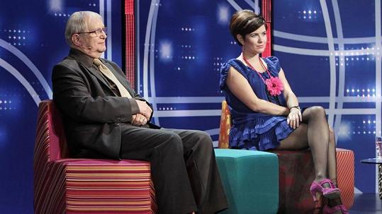 Zuzana Norisová a Jiří Suchý.
