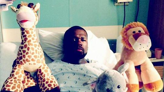 50 Cent se navenek prezentuje jako drsňák, ve skutečnosti se bojí o své zdraví jako každý z nás.