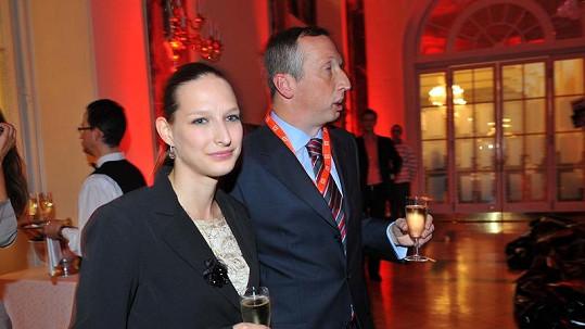Václav Klaus mladší s novou přítelkyní Lucií.