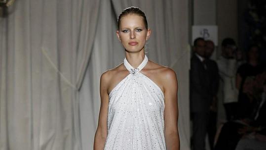 Karolína Kurková oslnila svou krásou.