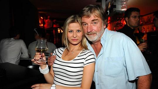 Vladimír Kratina s dcerou Dominikou.