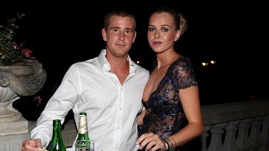 Veronika Machová s přítelem Romanem Červenkou