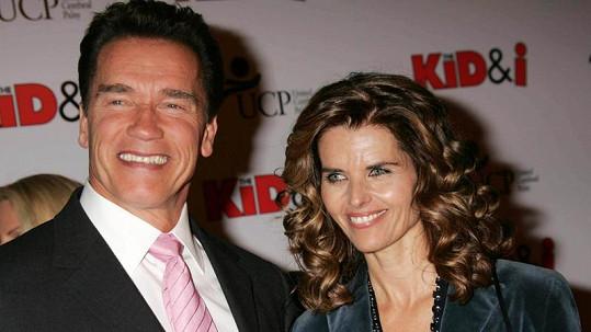 Arnold Schwarzenegger a jeho manželka Maria Shriver.