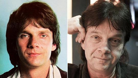 Pavel Roth v 80. letech a dnes.