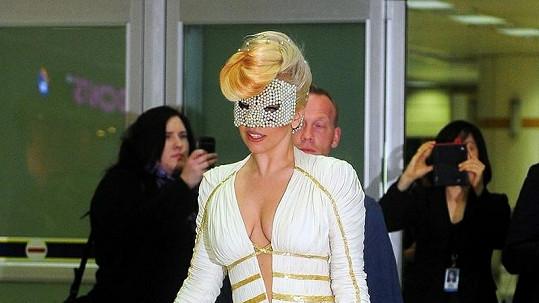 Lady Gaga působila velmi elegantně.