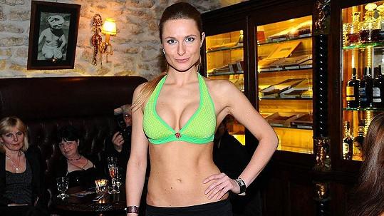 Romana Pavelková na módní show Agata jeans