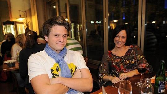 Ondřej Brzobohatý už nežije s manželkou Johankou.
