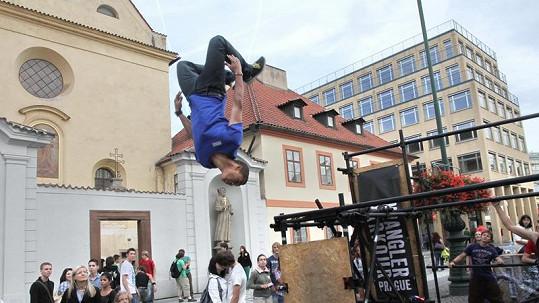 Benův dokonalý styl by mu mohli závidět i profesionální akrobati.