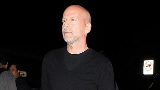 Bývalý manžel Demi Moore Bruce Willis