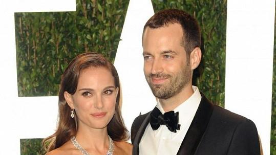 Natalie Portman a její manžel Benjamin Millepied.