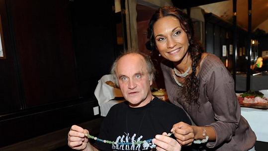 Lejla Abbasová a Michael Kocáb se rozešli.