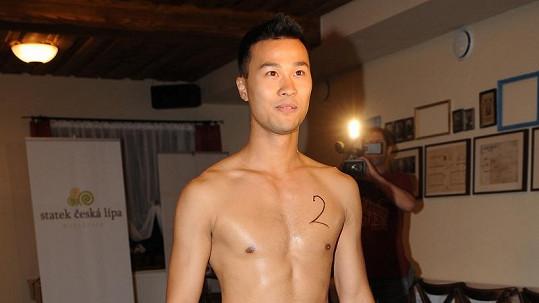 Karel Hung je velmi úspěšný model.