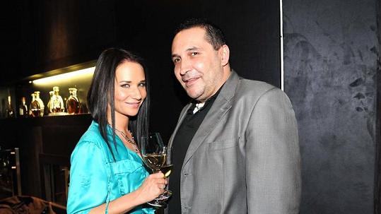 Sandra Nováková se svým bývalým Janem Nejedlým