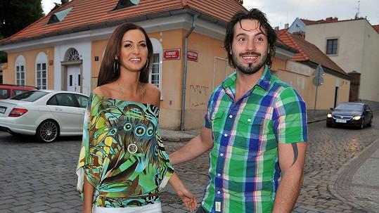 Václav Noid Bárta s Eliškou Bučkovou.