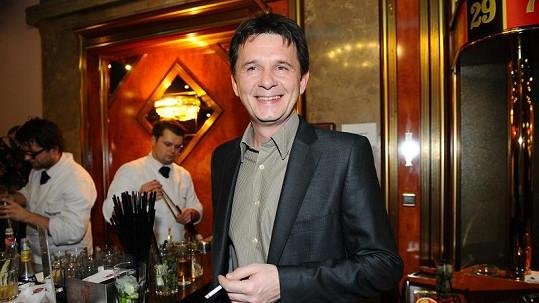 Jan Šťastný na párty kasína. Pak odjel do hampejzu.