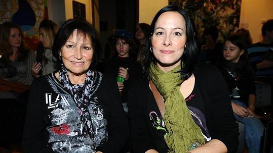 Marta Kubišová s dcerou Kateřinou.