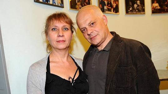Bob Klepl s Ivanou Slámovou.