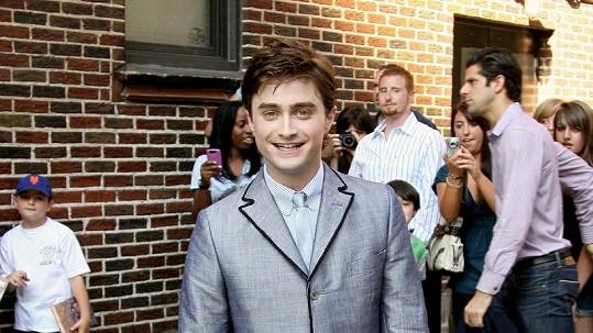 Daniel Radcliffe alias Harry Potter se opravdu nezdá.