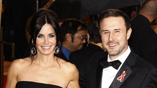 Courteney Cox a David Arquette.