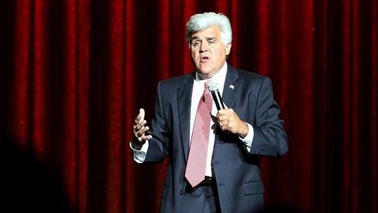 Americký moderátor Jay Leno.